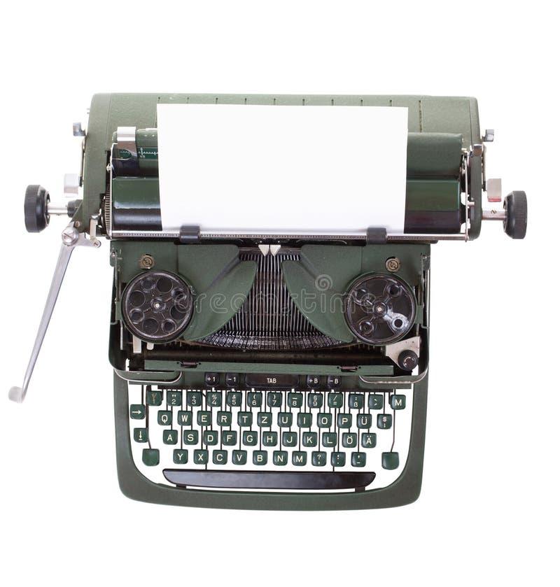 Old Vintage Typewriter Stock Image