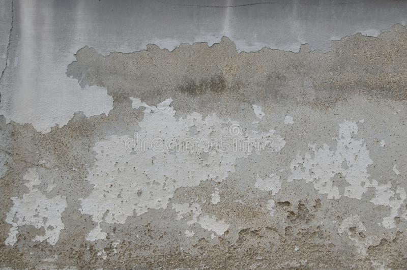 The Old Vintage Wall Texture for background and design art work. White Crack in The Old Vintage Wall Cracks Texture for background and design art work for royalty free stock images
