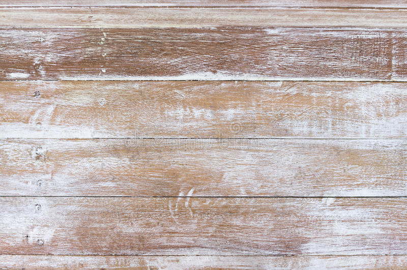Old vintage wood texture background. White wood texture background, wooden table top view royalty free stock images