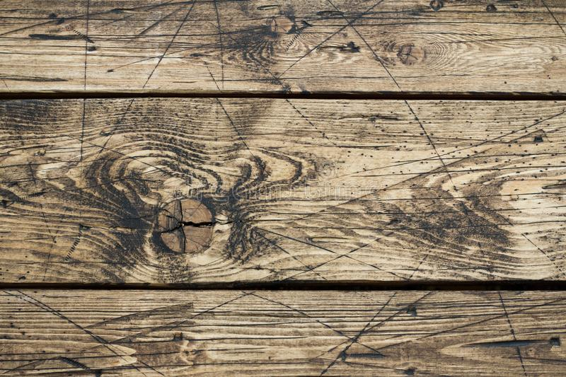 Old vintage wooden background. brown horizontal boards. beautiful wood texture stock photos
