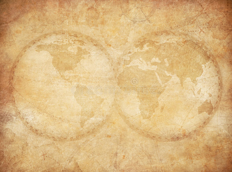 Old vintage world map background stock illustration illustration download old vintage world map background stock illustration illustration 71371607 gumiabroncs Image collections