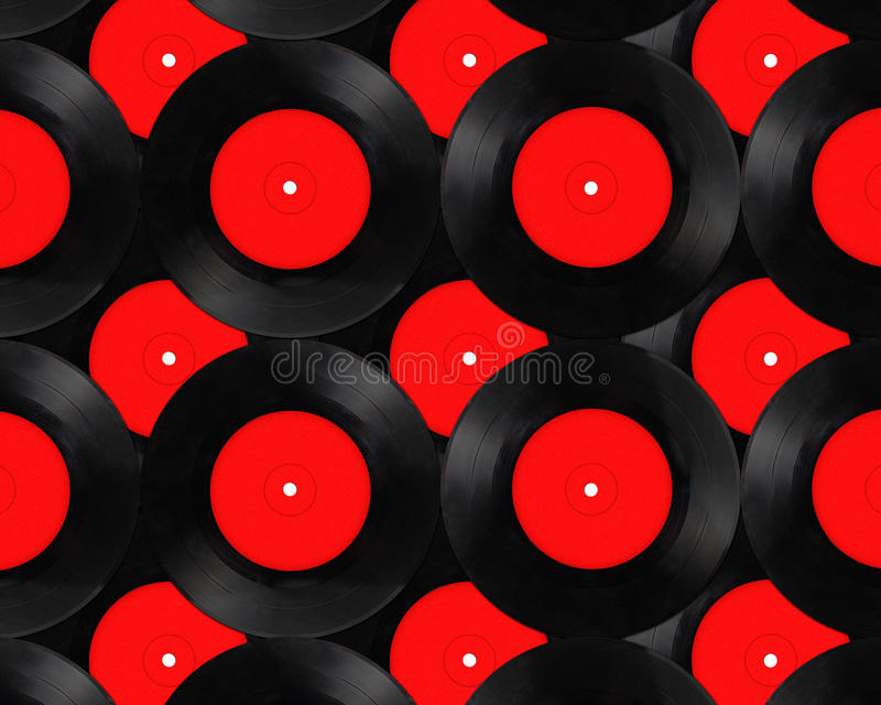 Old vinyl records collection. Background stock photos