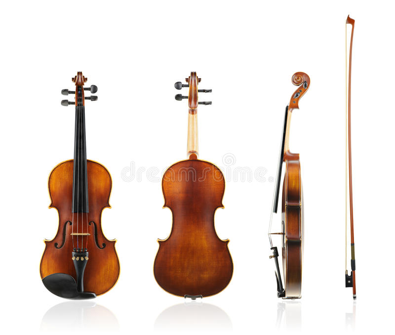 Old violin royalty free stock photography
