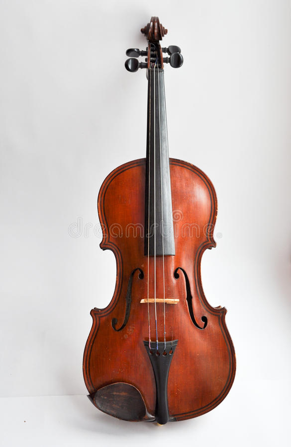 Download An old violin. stock photo. Image of scroll, instruments - 38631780