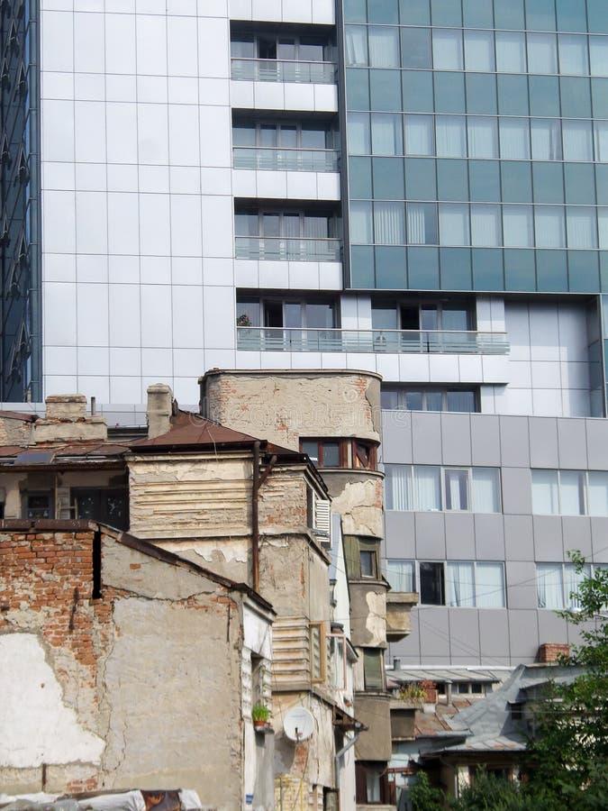 Free Old Vs New Building Stock Photo - 65806610