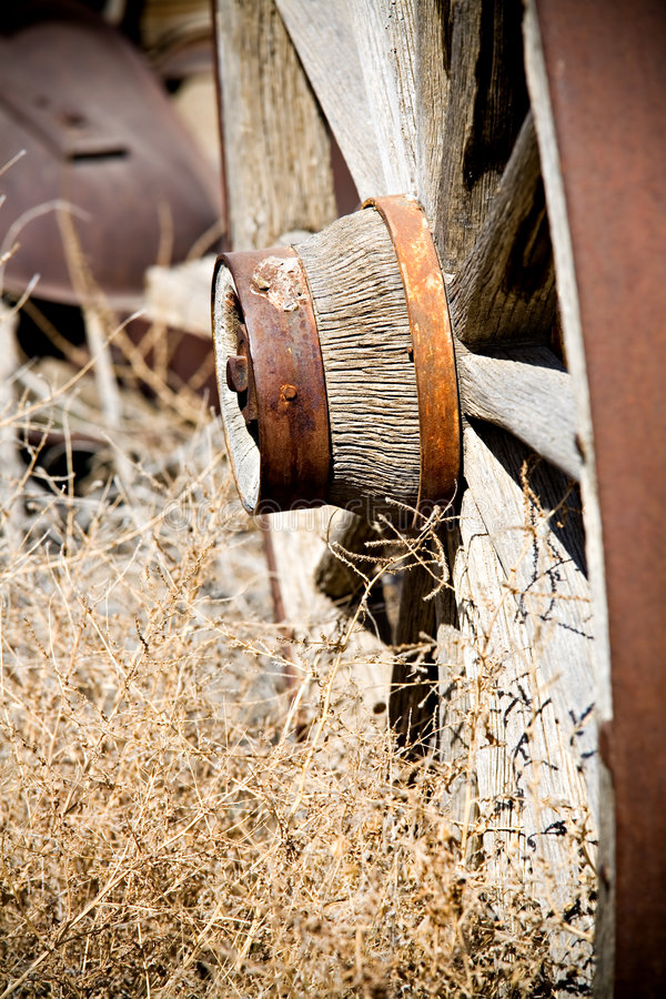 Download Old wagon wheel stock image. Image of antique, close, rusting - 2164675