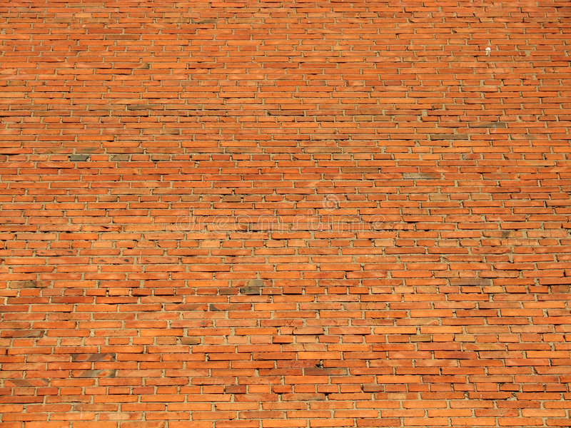 Old wall. Brick wall of an old house royalty free stock photos