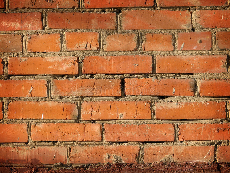 Old wall. Brick wall of an old house royalty free stock images