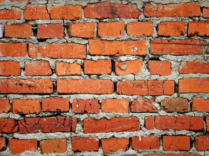 Old wall. Wall texture. Old brick wall stock photo