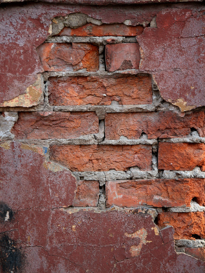 Old wall. Wall texture. Old brick wall royalty free stock photos