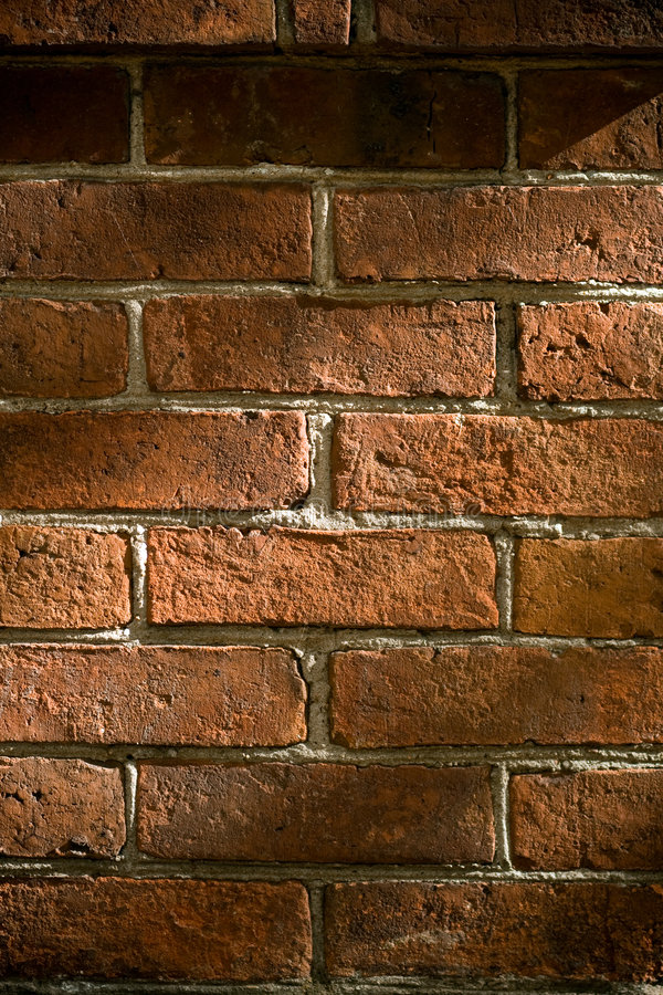 Old wall. Old weathered brick wall. Texture background stock photo
