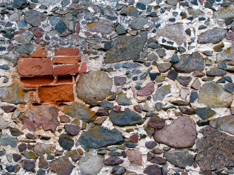 Download Old wall stock image. Image of brick, construction, textured - 6532633