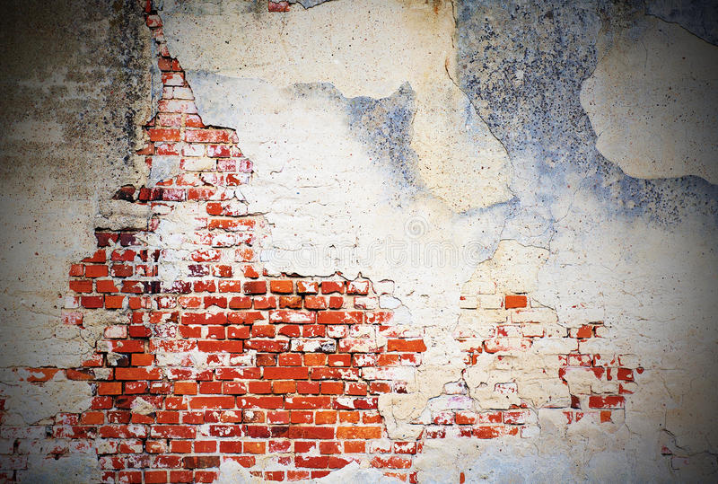 Old wall background stock image