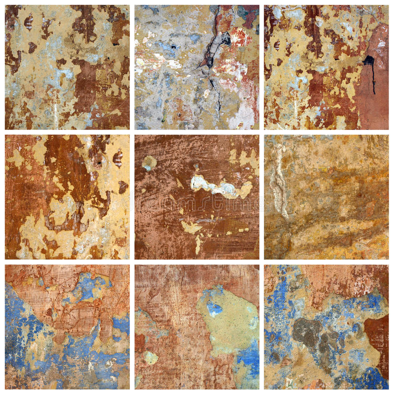 Free Old Wall. Collection Royalty Free Stock Photos - 25482488