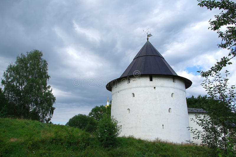 Download Old Wall Of The Pechorsky Monastery Stock Image - Image: 15411669