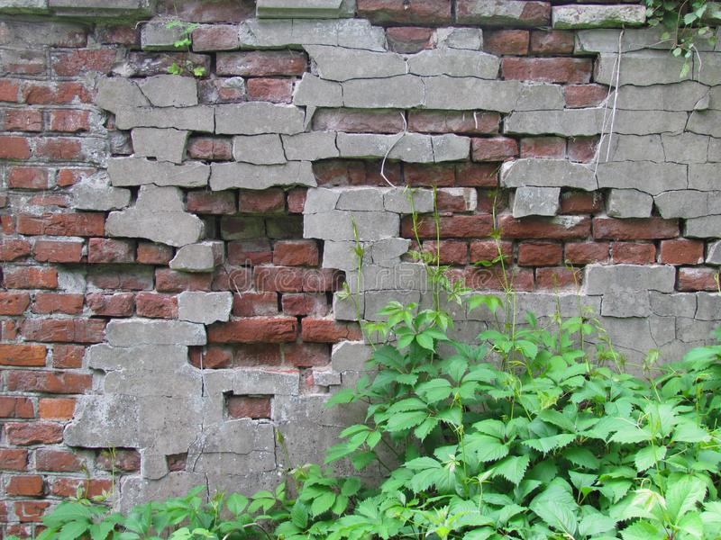 Old wall. Vintage decor royalty free stock photography