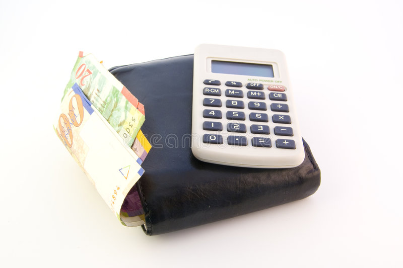 Download Old Wallet & Calculator Royalty Free Stock Images - Image: 3590549