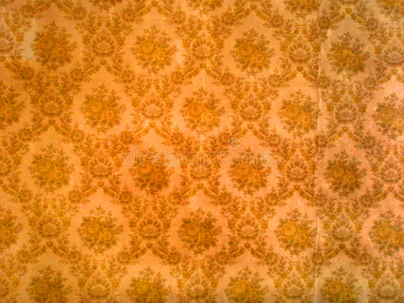 Old Wallpaper Stock Image