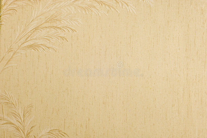 Download Old Wallpaper Background With Feather Border Stock Photo