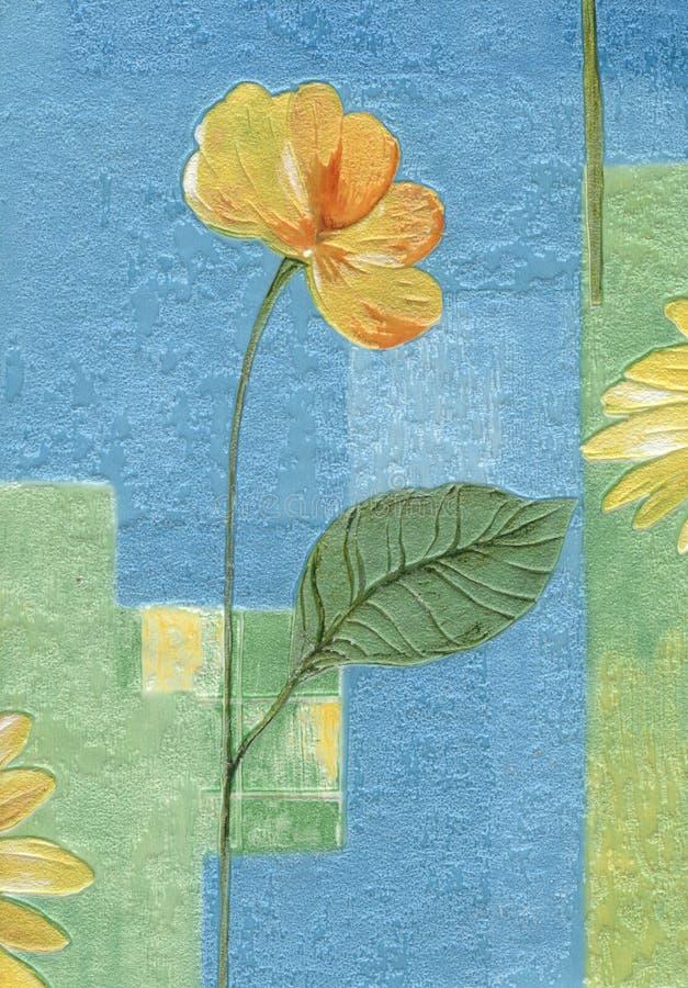 Old wallpaper element vector illustration