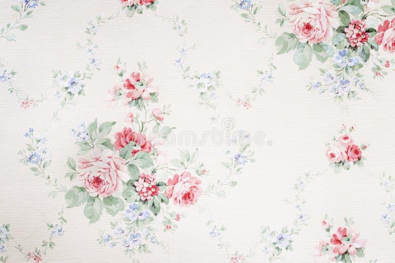 Old wallpaper. Vintage decorative background ,old wallpaper stock photo