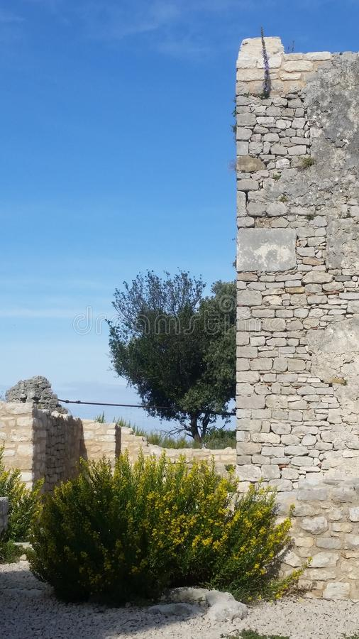 Free Old Walls Of History Church. Osor On Cres Island Royalty Free Stock Images - 163653579