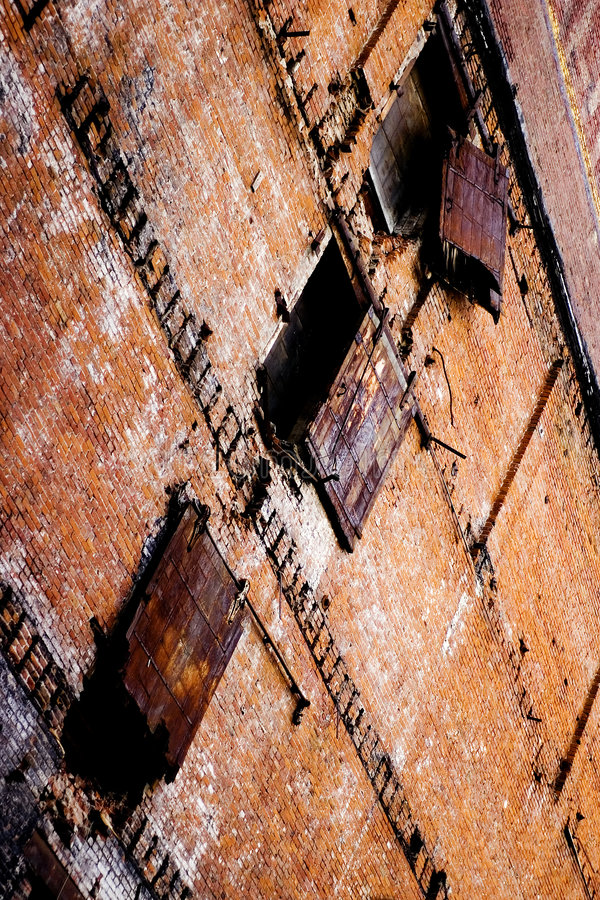Old Warehouse royalty free stock images
