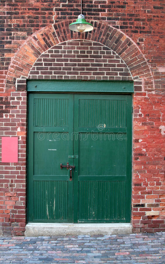 Free Old Warehouse Door Royalty Free Stock Photography - 10261297
