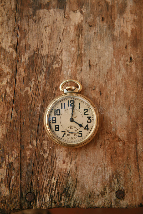 Old watch royalty free stock photo