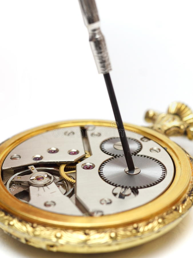 Free Old Watch Repair Stock Photo - 38427750