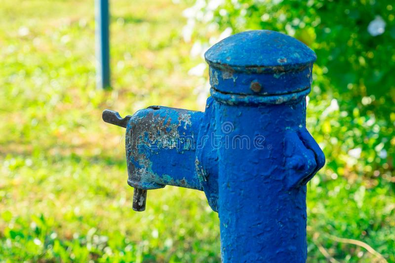 The old water in the abandoned villages of Russia.  royalty free stock images