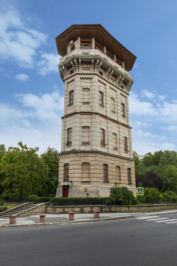 Old water city tower, Republic of Moldova royalty free stock photography