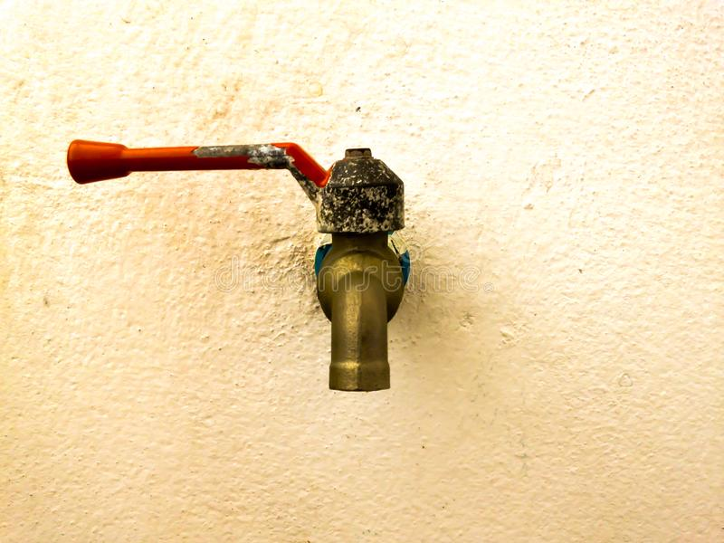 Old water pipe royalty free stock images