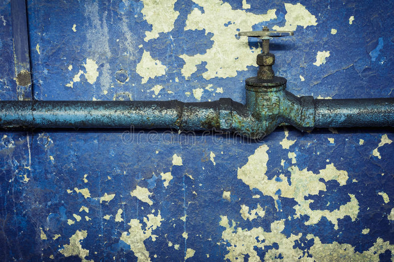 Old water pipe stock photo. Image of rusty, surface, vintage - 48682534