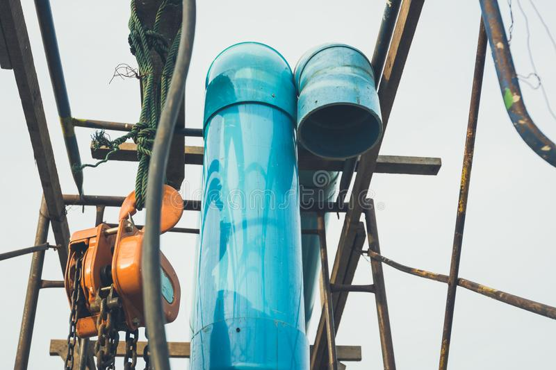 Old water pipe tone vintage . royalty free stock photography