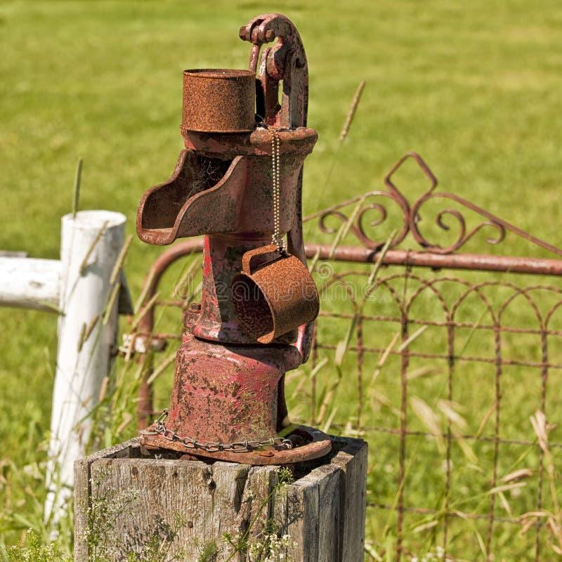 Download Old Water Pump stock image. Image of detail, irrigation - 28555109