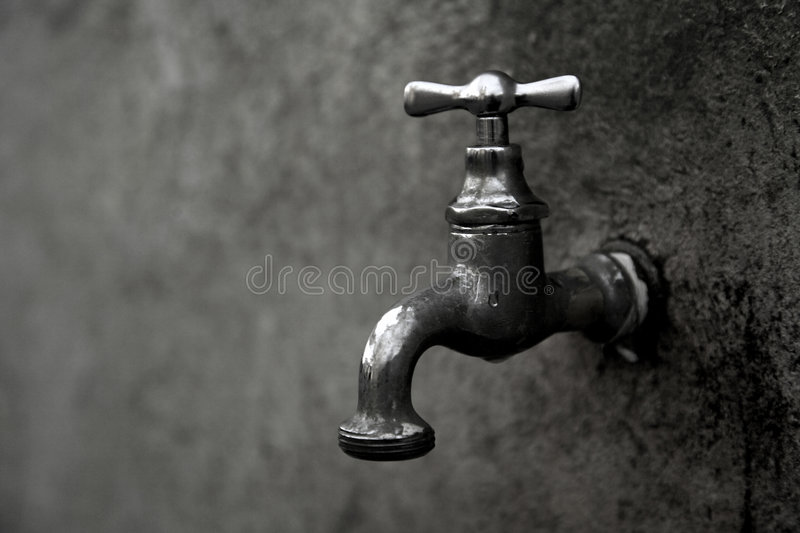 Old water source royalty free stock photos