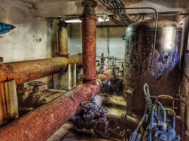 Old water supply royalty free stock photography