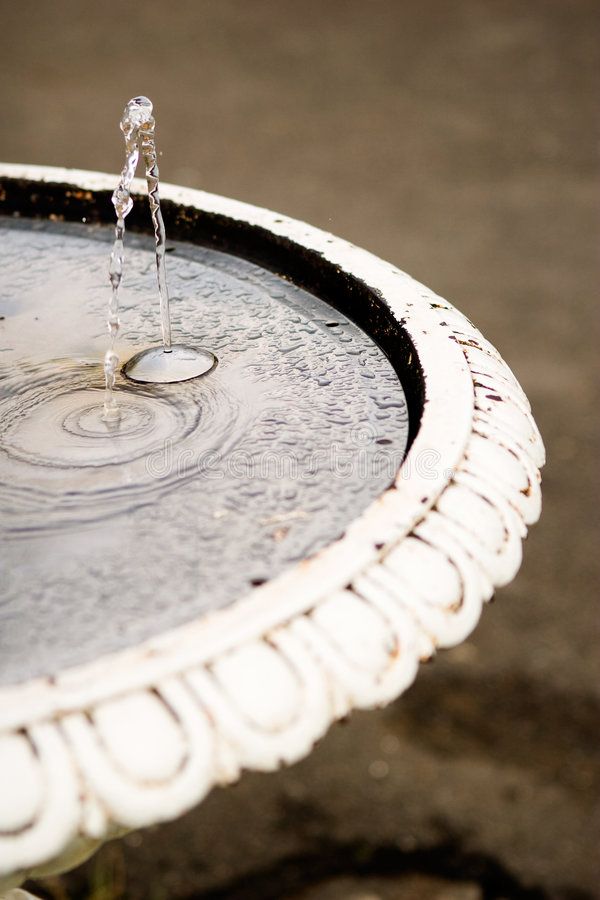 Old Waterfountain. An old waterfountain in a urban area royalty free stock photo