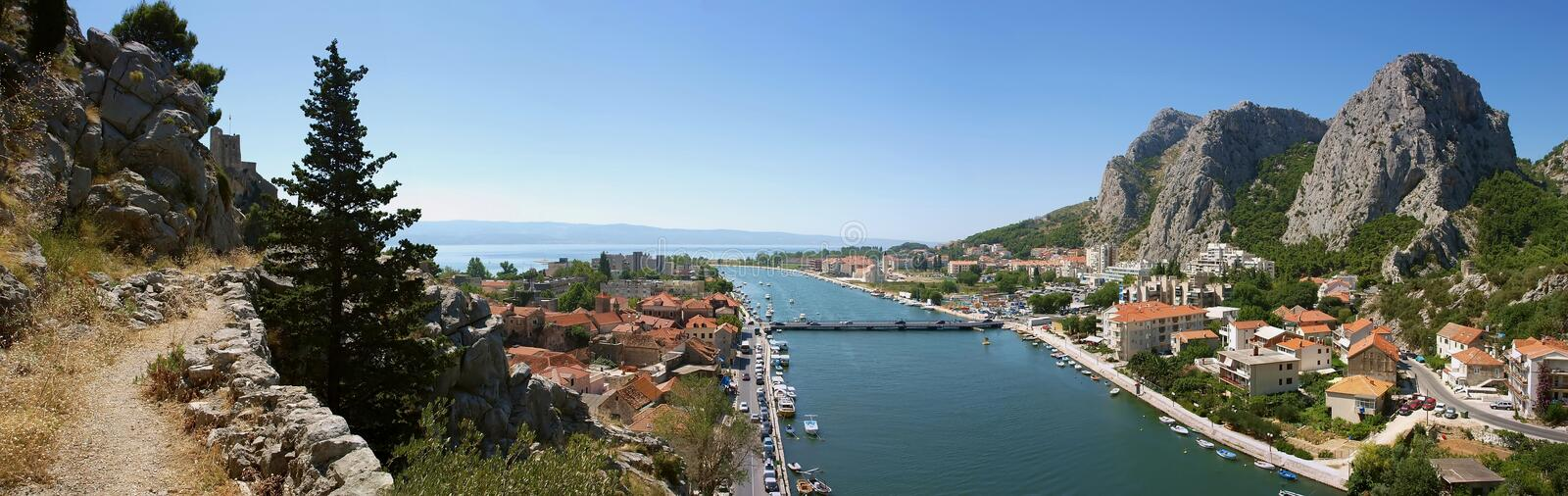 Download Old Way To Omis (panorama) Stock Photos - Image: 17069793