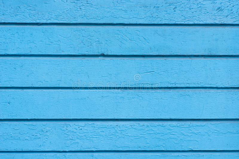 Old weathered blue painted wooden wall background texture royalty free stock photos