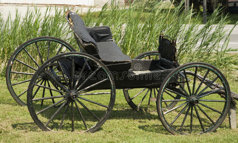 Download Old weathered buggy stock photo. Image of outside, cart - 23731986