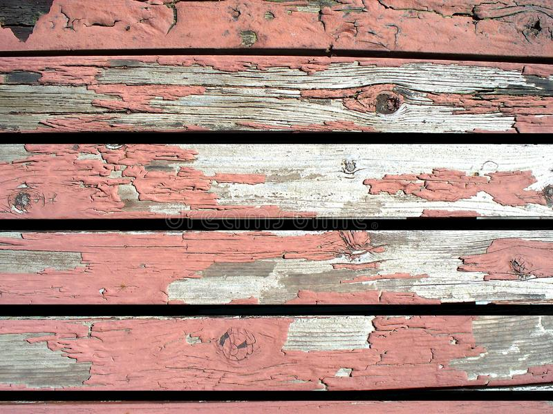 Old Weathered Deck Boards royalty free stock photo