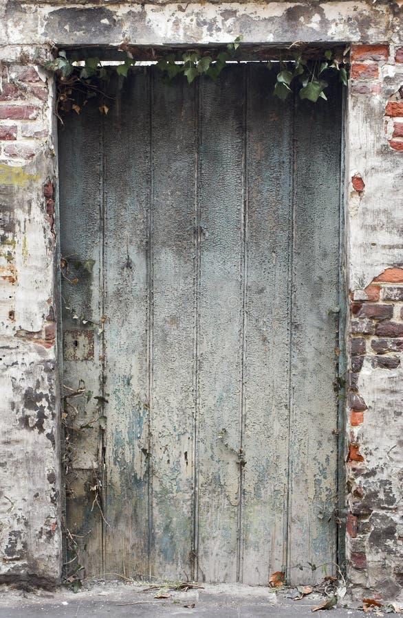 Download Old Weathered Deteriorated Wooden Door Stock Photo - Image: 496504