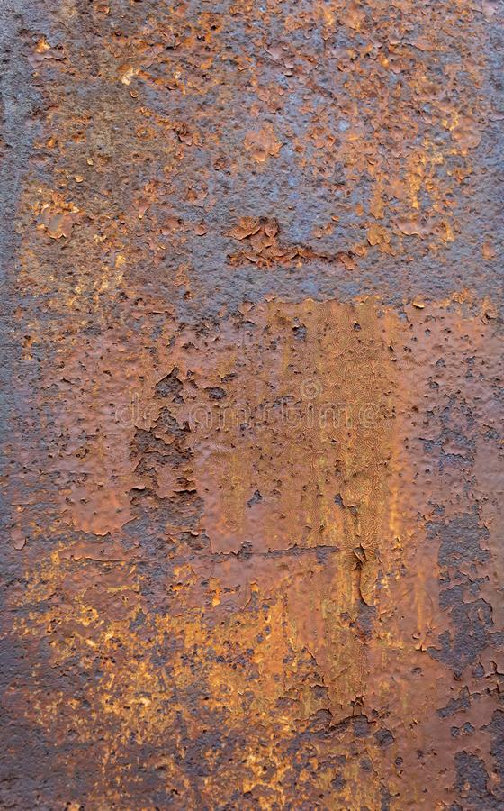 Weathered Old Rusty Metal Texture. Old and weathered metal texture useful for background image. To use as overlay place it above your image then apply Overlay royalty free stock photography