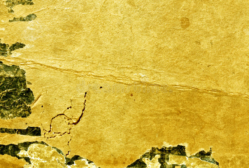 Old weathered paper book cover texture. royalty free stock photos