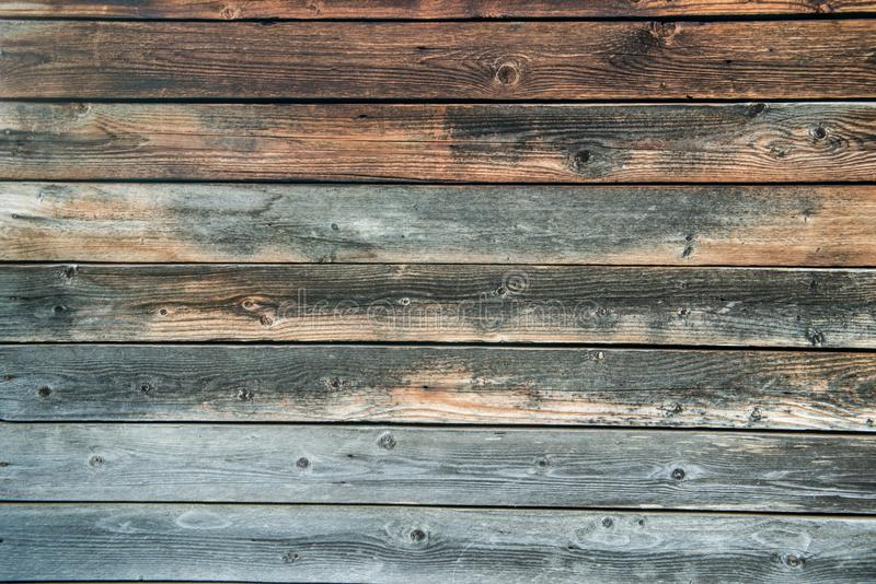 Old weathered wood planks. Vintage texture Background royalty free stock photography