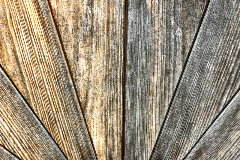 Old weathered wood surface of a door. Pattern for your design stock photography