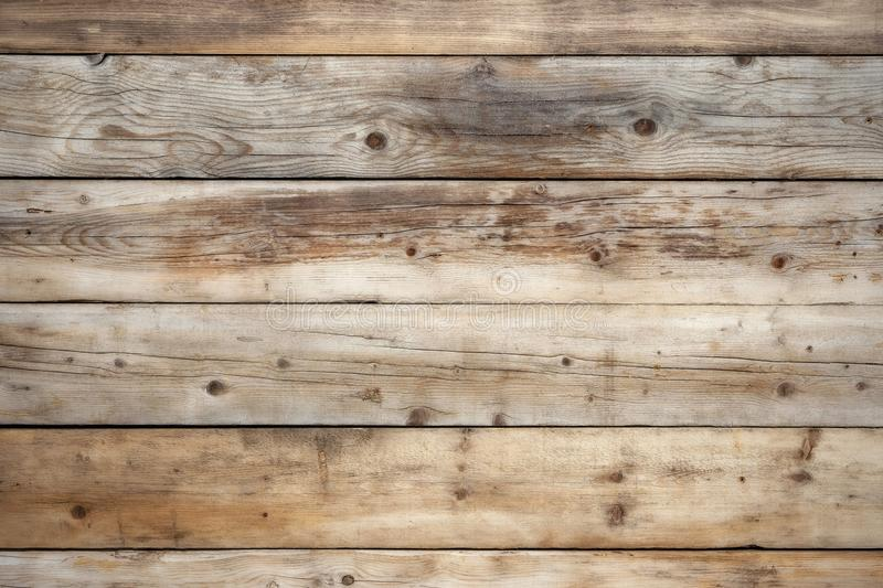 Old weathered wood wall background light natural pine royalty free stock photos