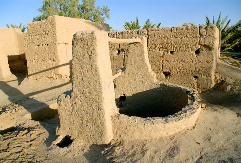Old well, Morocco royalty free stock images